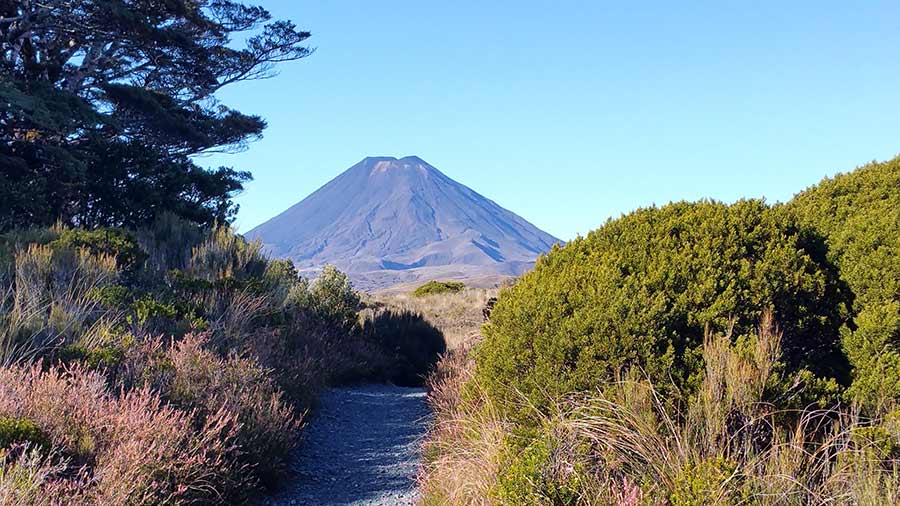 Mt. Tongariro in New Zealand, April 2016 (photo by Virochana)