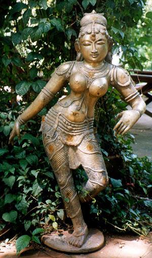 Saraswati in Kali's Garden