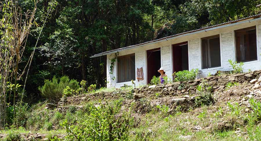 Retreat Cabin in Keshari Devi above Almora (photo by Virochana)