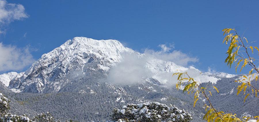 Crestone Mountain by Virochana Khalsa