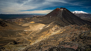 Tongariro Crossing in New Zealand 2016 by Virochana Khalsa